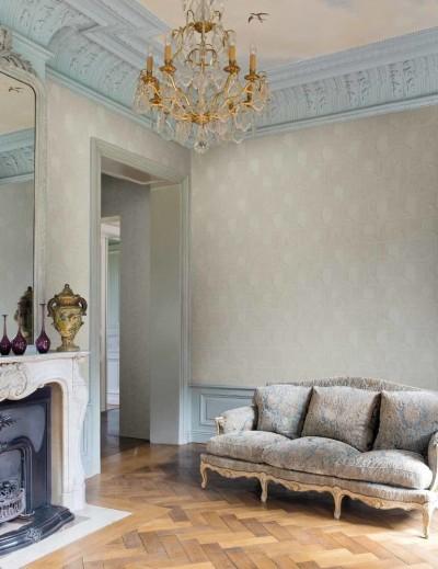 para las paredes el papel pintado de flores o los papeles pintados con motivos vegetales y enramados son perfectos si queremos combinar la elegancia con la