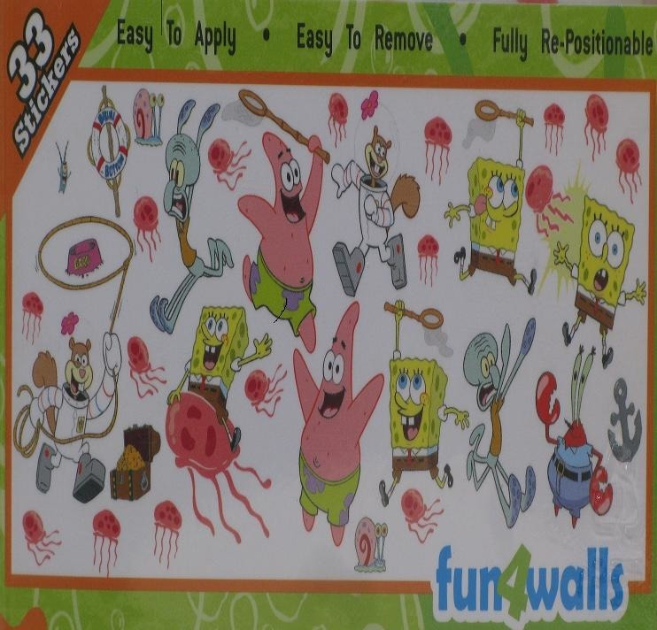 sticker bob esponja