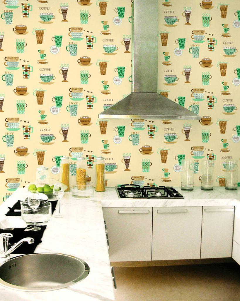 Saint honor el estilo que decora tu hogar part 2 - Papel de pared para cocina ...