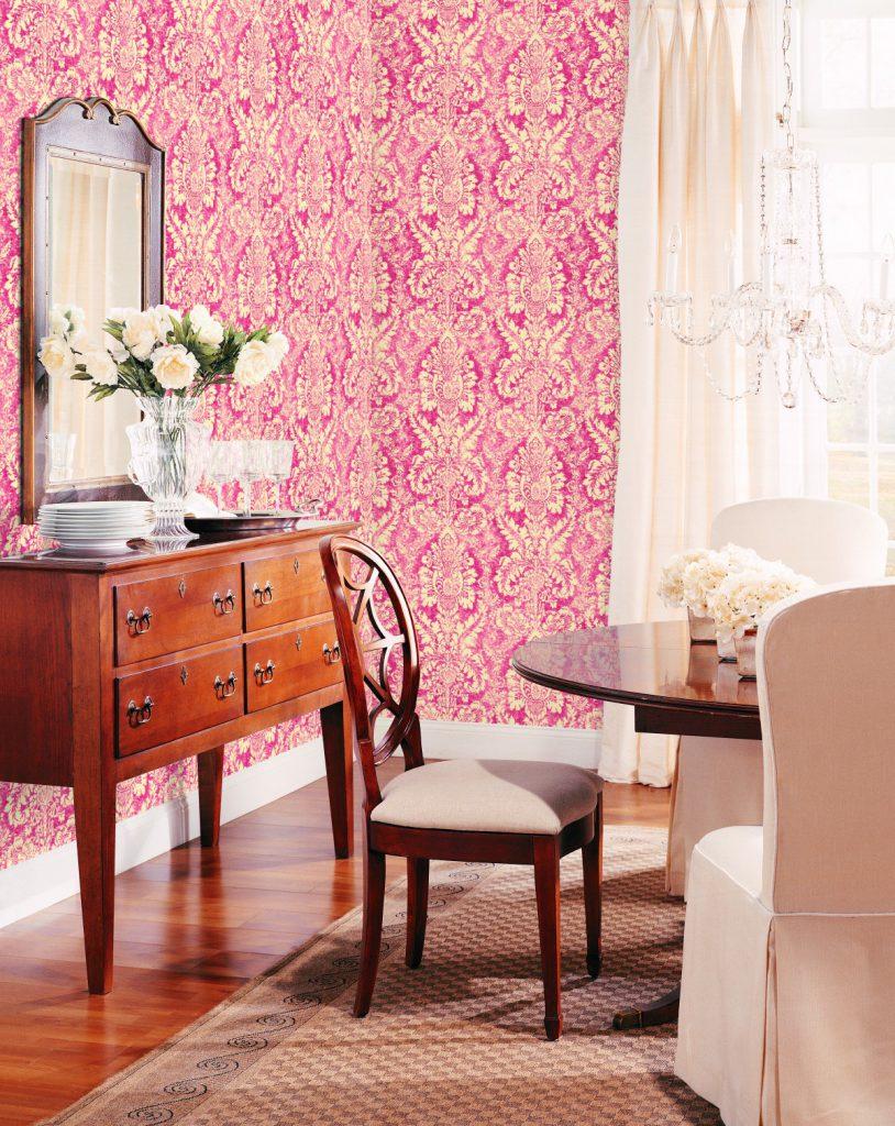 Saint honor el estilo que decora tu hogar - Papel pintado salones modernos ...