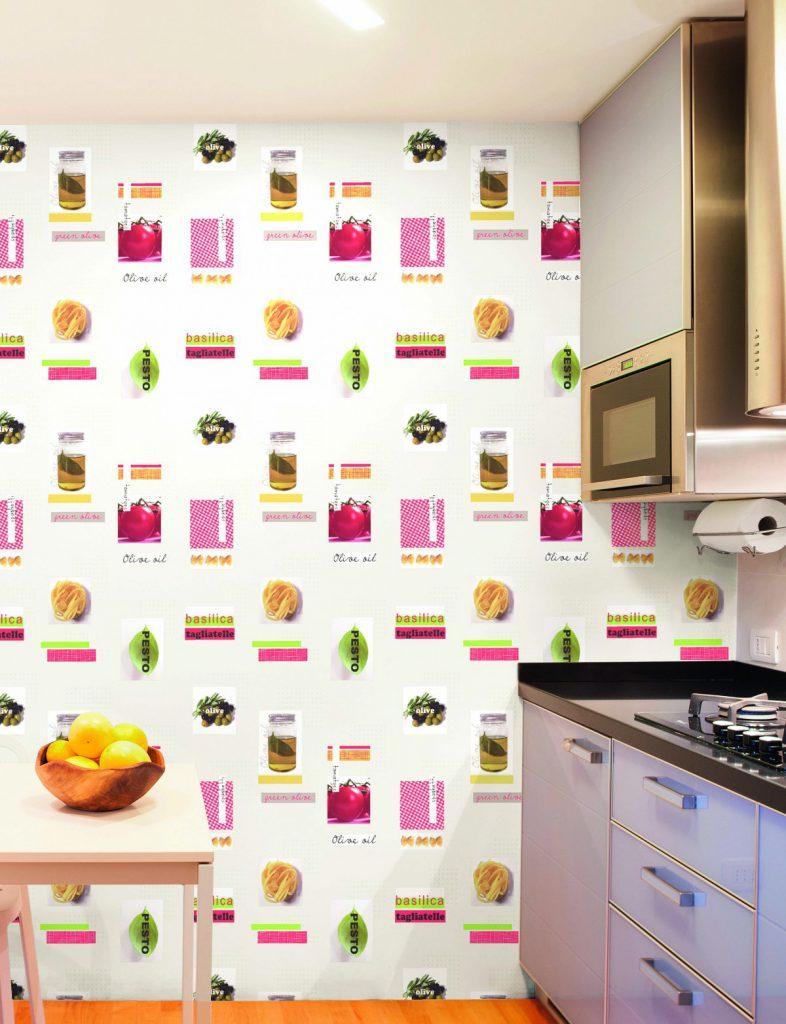 Saint honor el estilo que decora tu hogar - Papel decorativo cocina ...