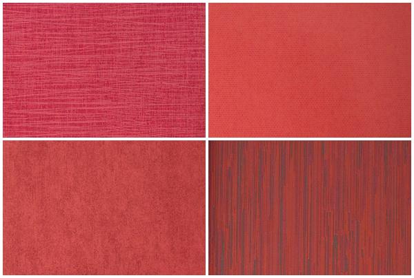 papel pintado rojo