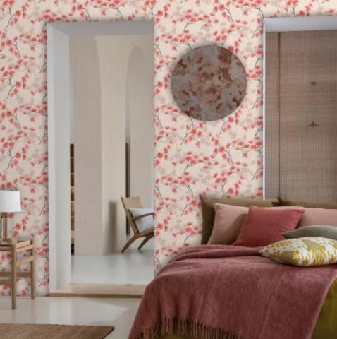 papel de pared dormitorio